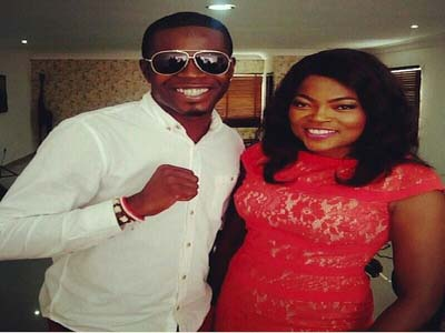 Funke Akindele and JJC step out as couple