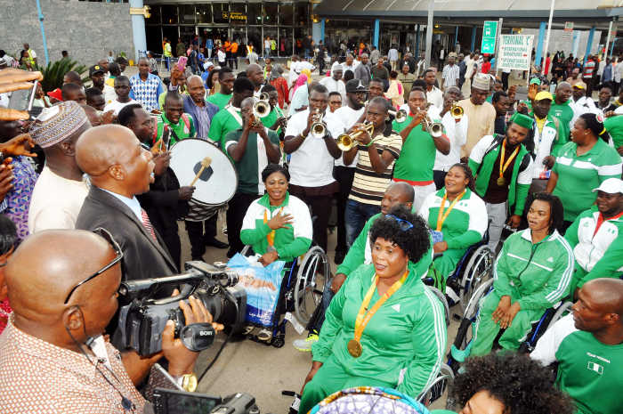 Paralympic team cries out to FG for largesse