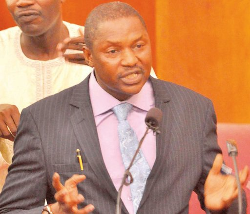 Malami worried about slow treatment of anti-graft bill