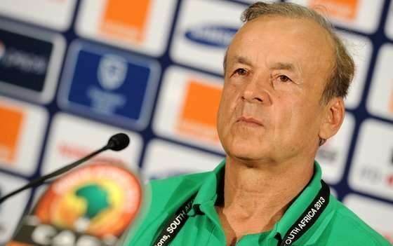 Gernot Rohr : Eagles fired up to qualify for W/Cup