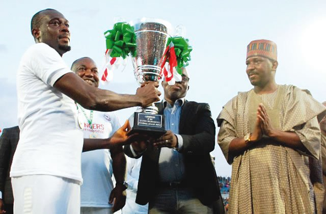 Wild celebrations as Enugu Rangers win league