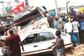 Four Students killed, five injured in Oyo Auto Accident