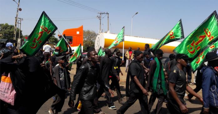 Shi'ites denounce terrorism, promise to obey the law
