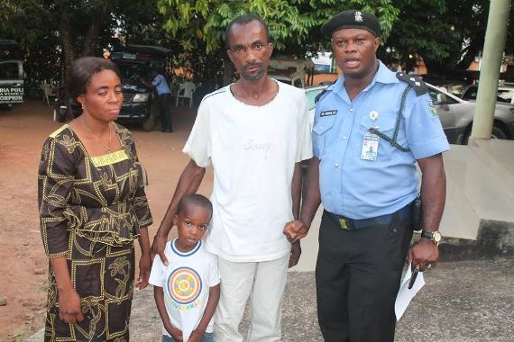 Police arrest child traffickers, rescue 4-year-old boy