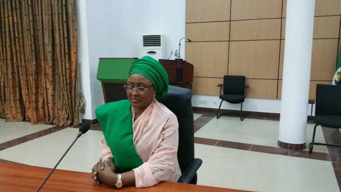 Aisha Buhari denies abusing privileges in London