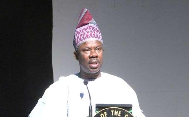 Governor Amosun says Aisha Alhassan working against Buhari's govt.