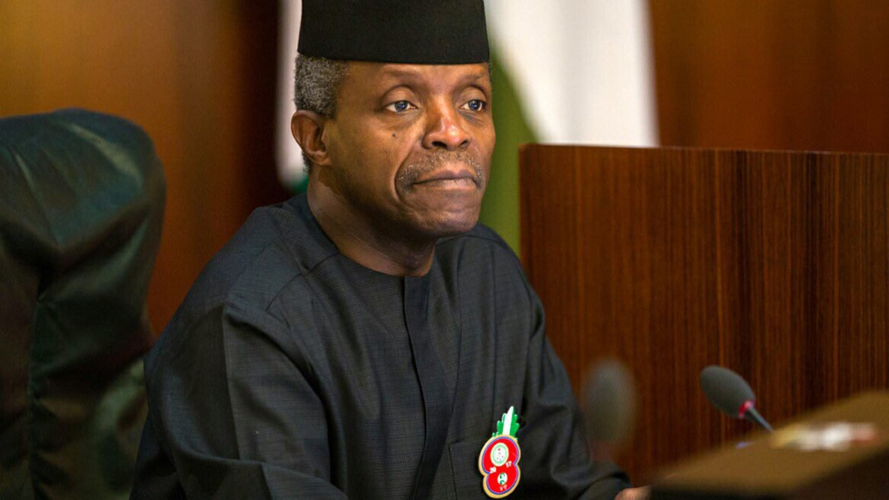 Osinbajo in Bayelsa for N'Delta peace talks