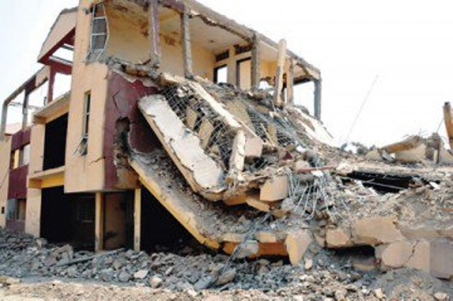 Three-storey building collapses in Anambra