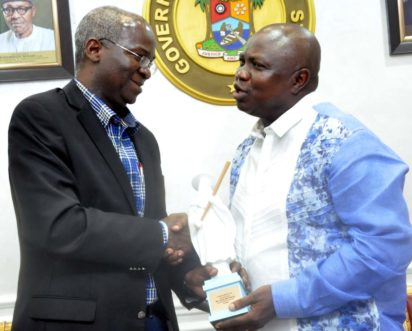 Fashola's achievements as governor commendable, says Ambode