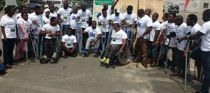 Martins donates wheelchairs to special athletes