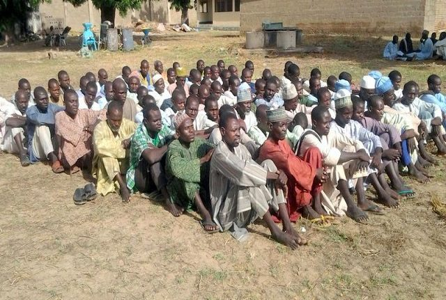 Nigerian army frees 593 'cleared' Boko Haram suspects