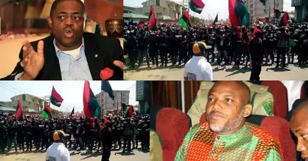 Femi Fani-Kayode barred from the court room to witness Nnamdi Kanu's bail