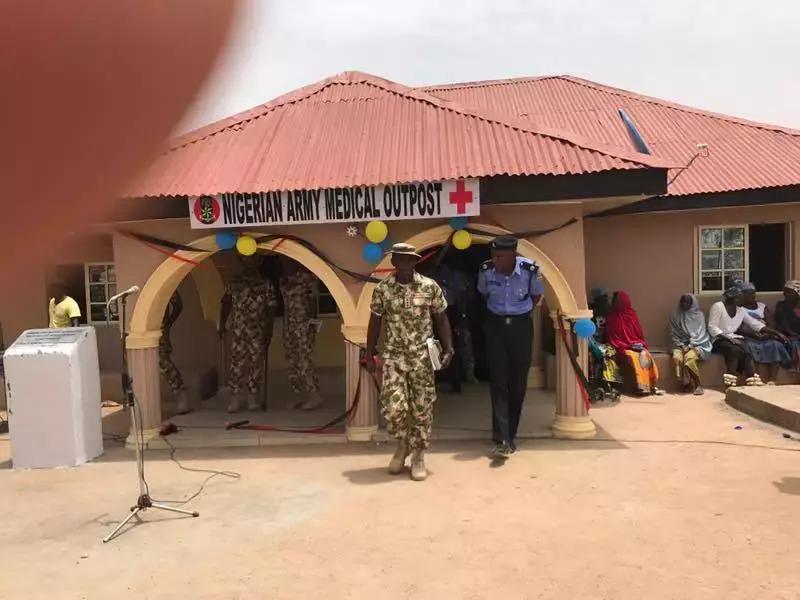 Nigerian army donates clinic to Tigi community in Plateau