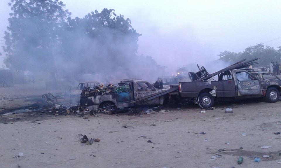 Seven killed in multiple suicide attacks in Maiduguri
