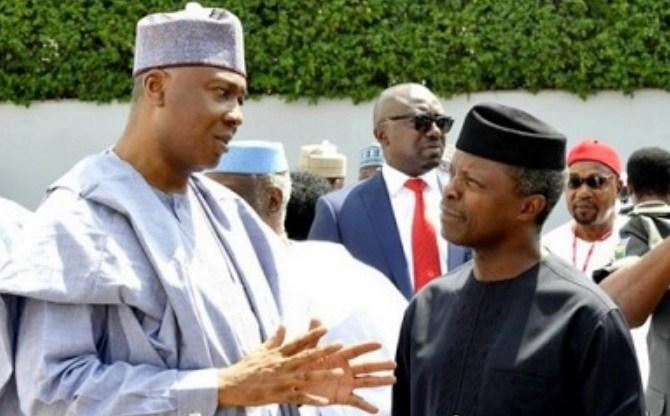 Senate President declares Yemi Osinbajo Acting President of Nigeria