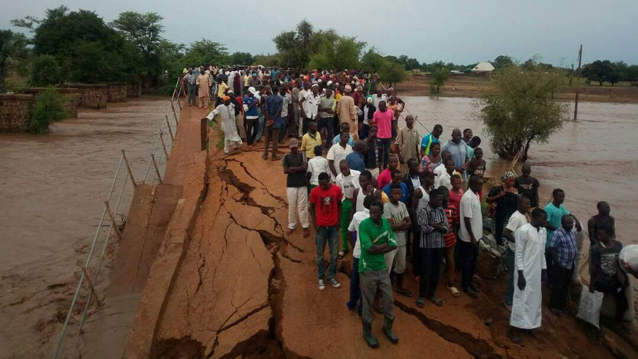 Nigerian army begins repair of collapsed Michika bridge in Adamawa