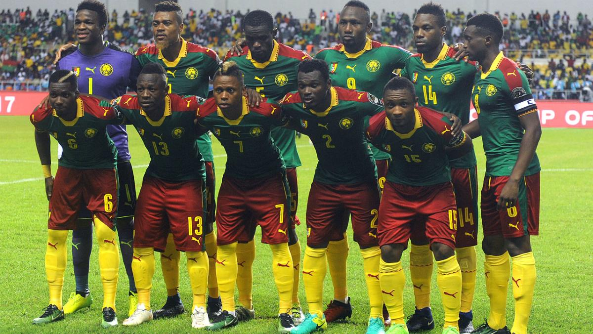 Rohr spies on W/Cup rivals Cameroon at Confederations Cup