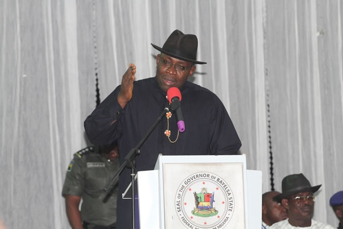 Constitution amendment : Dickson supports restructuring, resource control