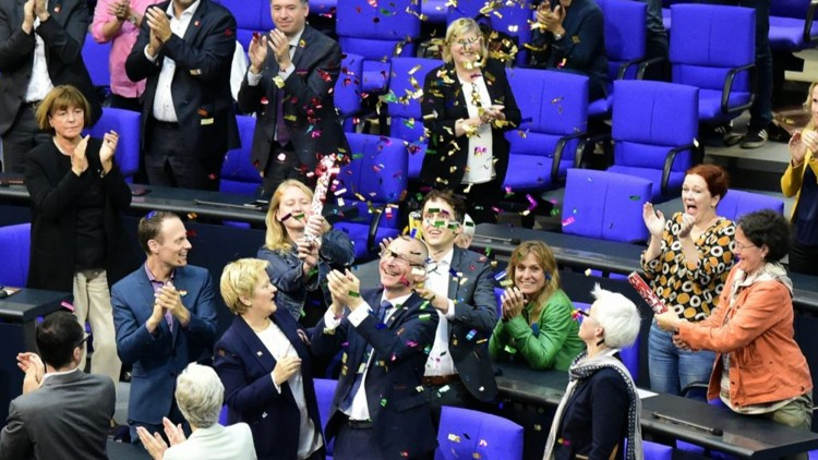 German lawmakers vote to legalize same-sex marriage
