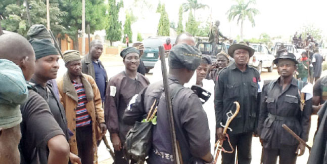 Hunters kill two female would-be suicide bombers in Adamawa
