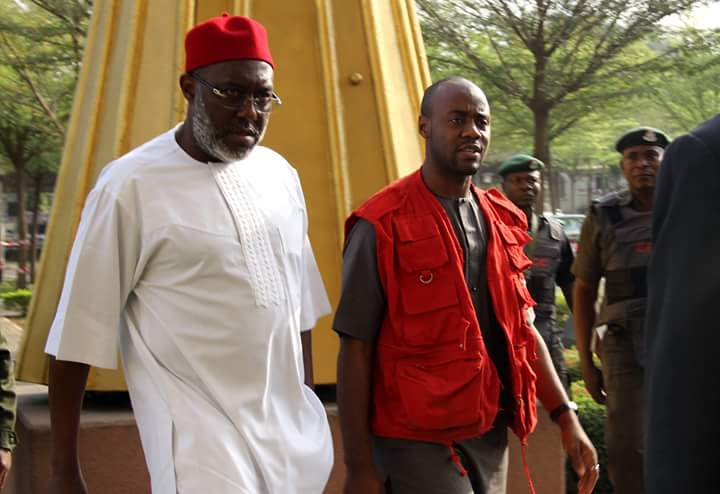 Court refuses Metuh's application for suspension of trial