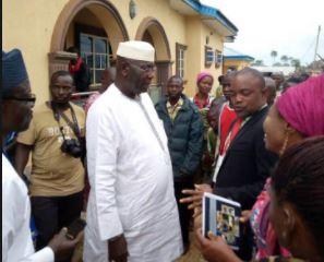 Osun West : APC's Hussein votes