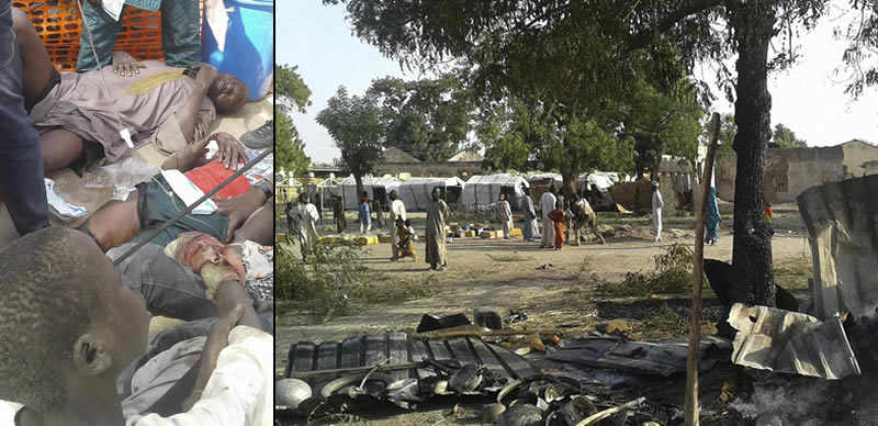 Rann IDPs camp bombing a result of communication failure – Army