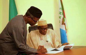 Buhari and Osinbajo on looters list