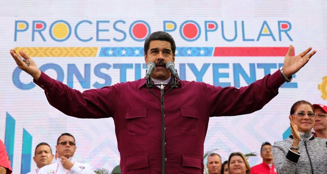 Venezuela's Maduro blames sanctions on U.S. imperialism