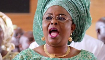 Patience Jonathan alleges harassment of family, seeks Reps' intervention