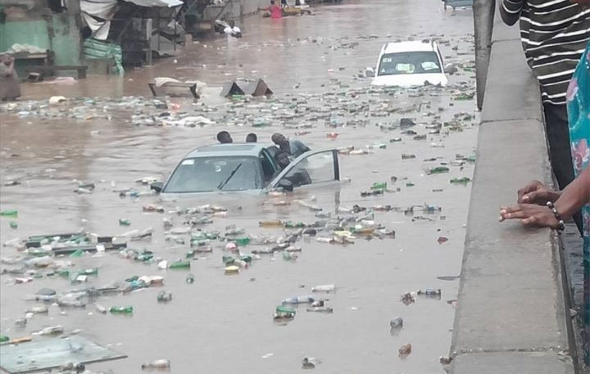 Heavy downpour causes flood in parts of Ogun State