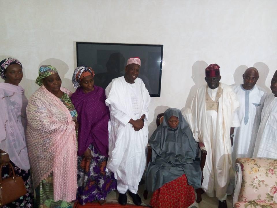 Maitama Sule: Tinubu pays condolence visit to Kano