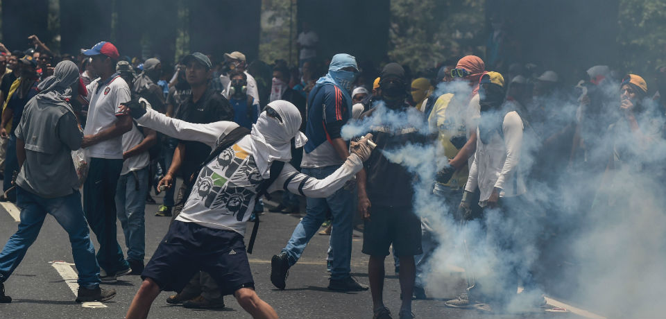 Five killed in Venezuela as protesters kick against new congress