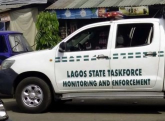Lagos Taskforce arrest an alleged kidnapper