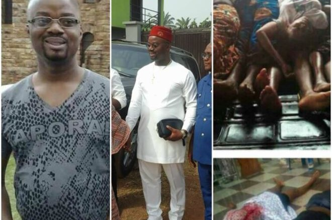 #OzubuluMassacre : Aloysius 'Bishop' Ikeguonu, others attend Sunday mass