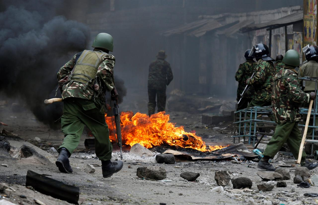 Eleven dead as post-election violence erupts in Kenya
