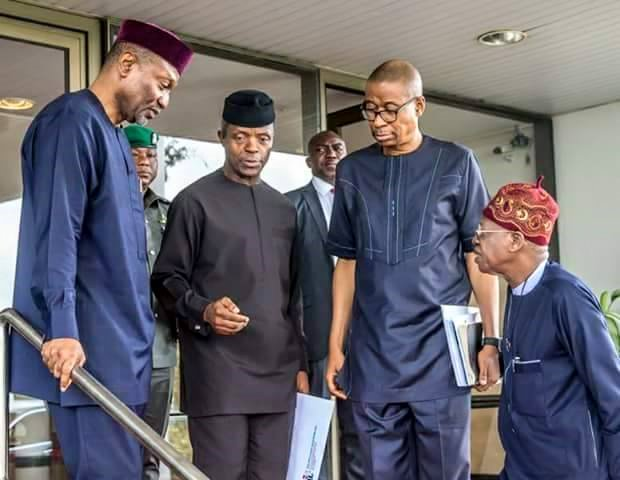 Osinbajo charges cabinet to implement Economic Recovery, Growth plan