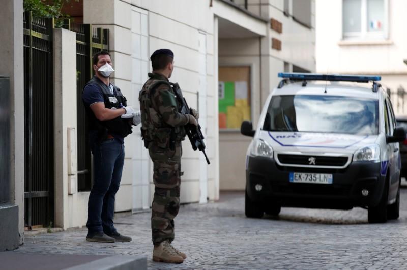 Car rams into soldiers in Paris suburb in suspected terrorist attack