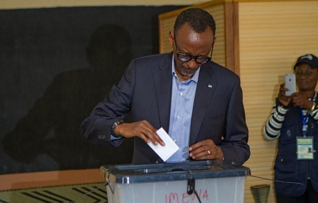 Rwandans vote in poll expected to hand Kagame third term