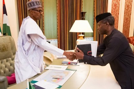 Image result for Buhari Receives Report On SGF, NIA DG Probe