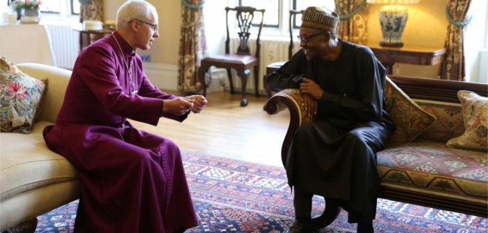Archbishop of Canterbury visits President Buhari in London