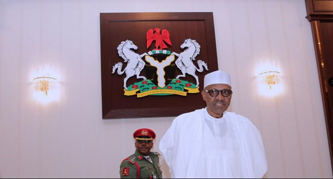 President Buhari presides over FEC meeting, Al-hassan receives warm welcome