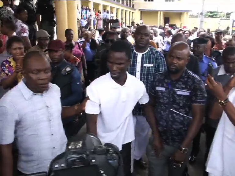 Suspected Rivers ritual killer arraigned in court amid tight security