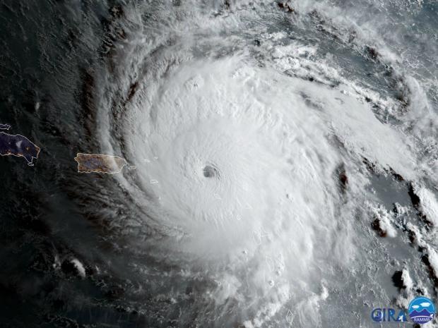 Hurricane Irma heads across The Bahamas, Florida citizens evacuate