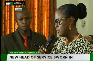 Kwara Head of Service -TVC