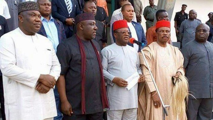 South-East govs proscribe IPOB activities