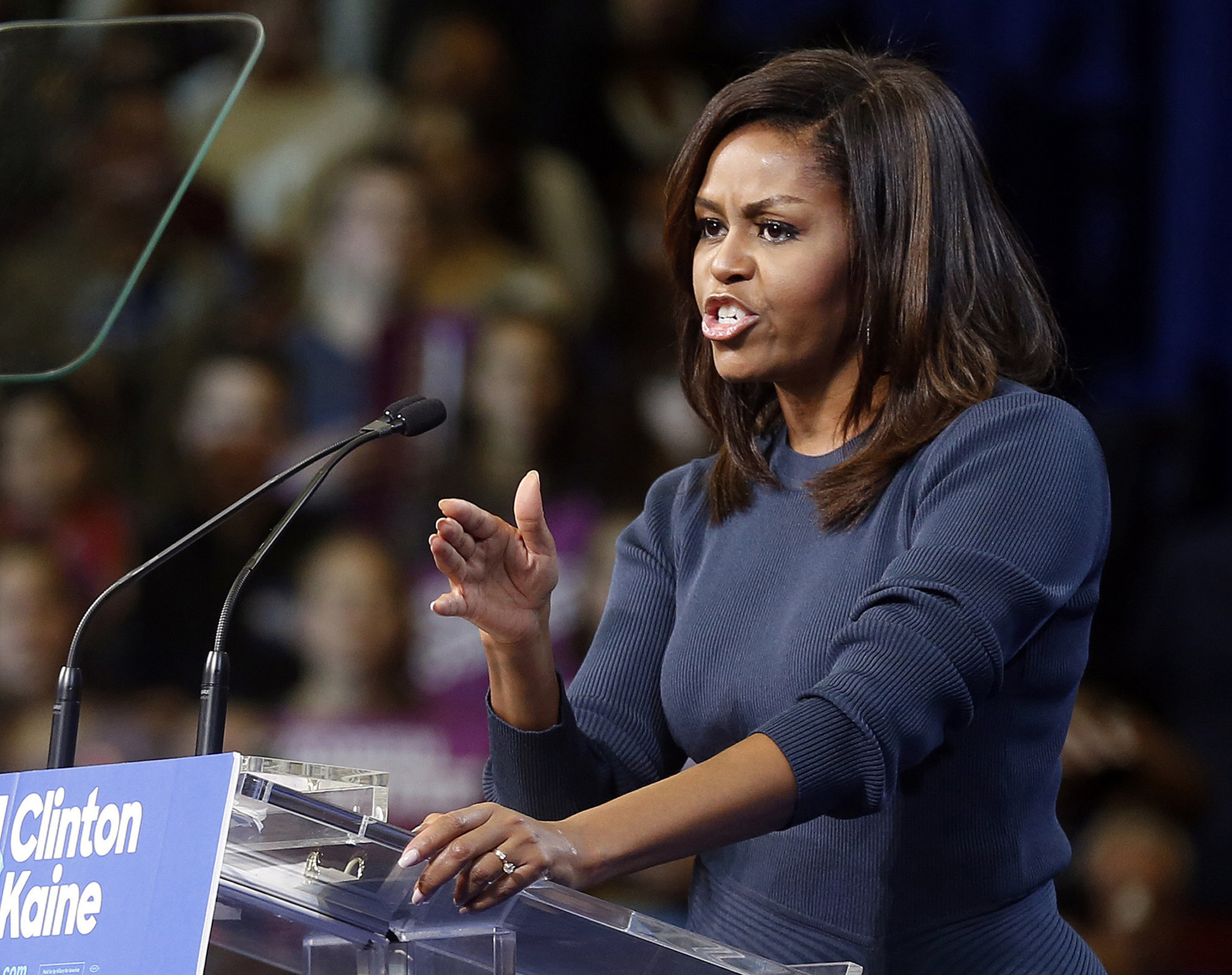 Michelle Obama slams women who voted for Trump