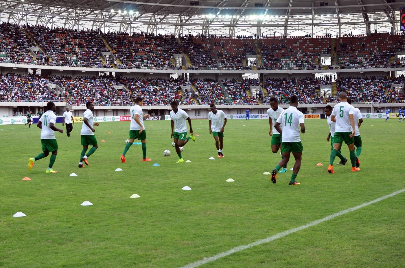 W/Cup Qualifier: Super Eagles to train in Morocco for Algeria match