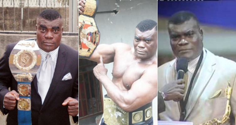 Lagos police reportedly arrest wrestling champion, Power Uti over wife's death