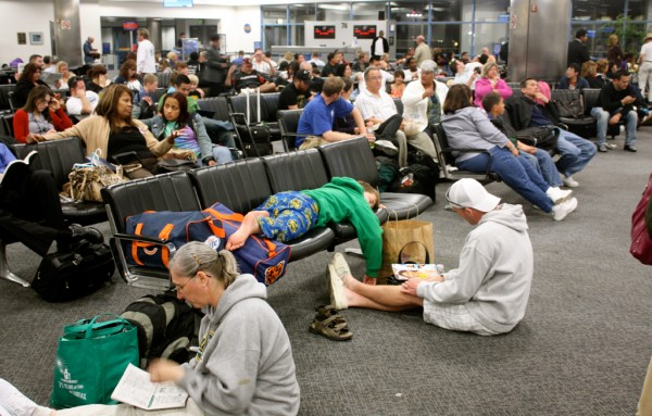 Image result for stranded airport